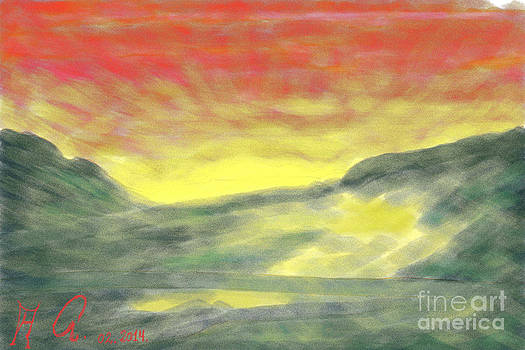 A Midsummer Night's Dream - Lappland . by  Andrzej Goszcz