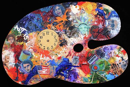 A Minds Eye Palette by Trish Bilich
