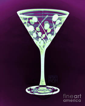 A Mint Martini on Plum by Barbara Rush