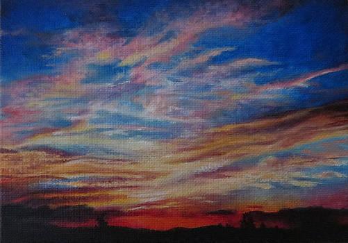 A Montana Sunset 1 by Tara Aguilar