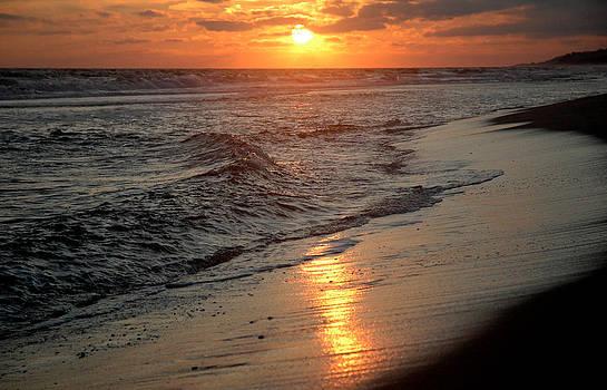 A Montauk Sunset by Sam Newton