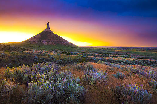 A Monument to the Prairie by Evan Ludes