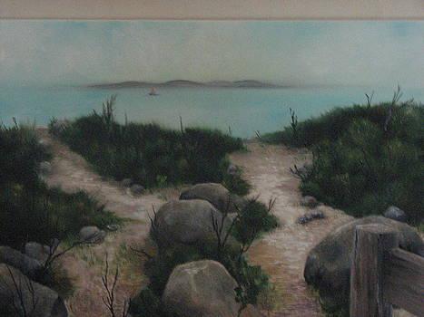 A Morning Walk by Randi Evans