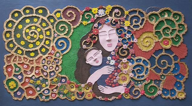 A Mother's Embrace by Otil Rotcod