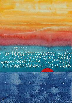 A New Day Dawns original painting by Sol Luckman