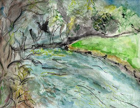 Spring River Morning by Elizabeth Briggs