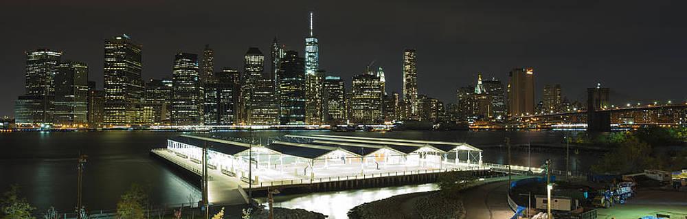 A New York City Night by Theodore Jones