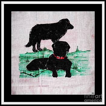 Barbara Griffin - A Newfoundland Dog and A Labrador Retriever