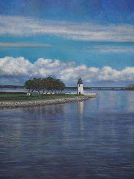 A Nice Day in Newport RI by David P Zippi
