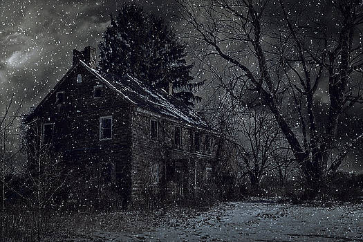 A Night Left Behind by Kim Zier