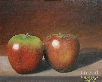 A Pair of Apples by Dave Casey