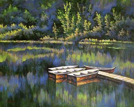 A Peaceful Gathering by Guo Quan Zheng