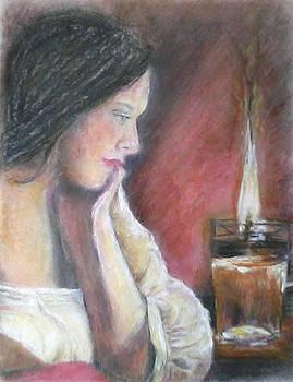 Pensive Gaze by Shan Ungar
