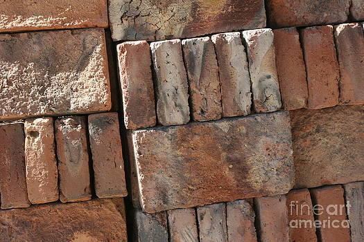 A pile of Bricks  by Marie-Pierre Sabga