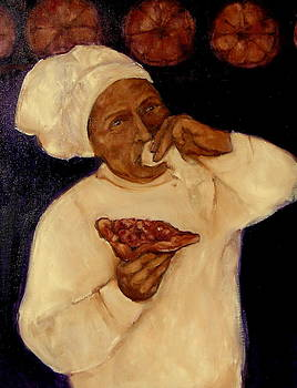 A Pizza Art by Johanna Elik