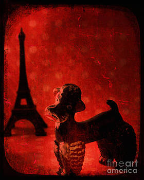 A Poodle in Paris by Sharon Coty
