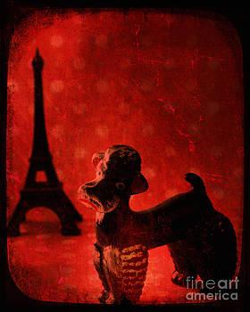A Poodle in Paris by Sharon Kalstek-Coty