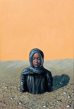 A Prayer Before Her Stoning by Daniel  Remmenga
