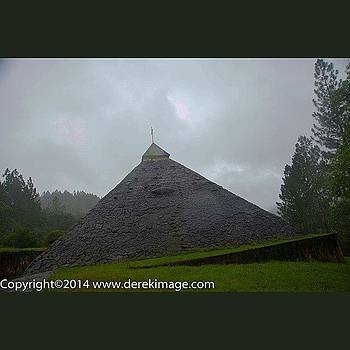 A Pyramid Church At Campo Claro In by Derek Kouyoumjian