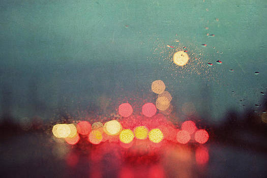A Rainy Night Drive by Beverly  LeFevre