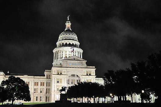 A Rainy Night in Austin by Timothy Johnson