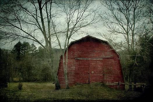 A Red Barn by Christine Annas