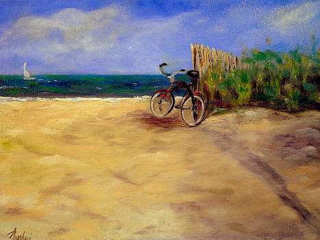 A Ride To The Beach by Anne Barberi