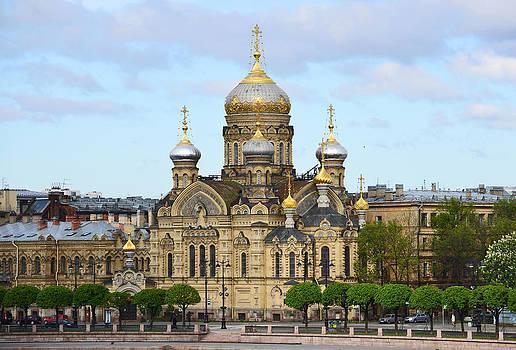 Harvey Barrison - A River View of Saint Petersburg