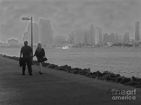 A Romantic Walk 2 by Claudia Ellis
