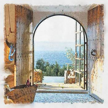 A room with a view by Patrick OHare
