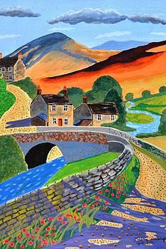 a Scottish highland lane by Magdalena Frohnsdorff