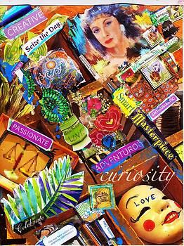 Anne-Elizabeth Whiteway - A Selfie Collage
