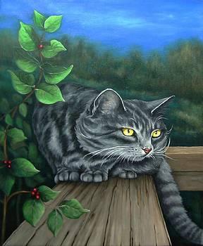 A Silent Watcher by Pamela Humbargar