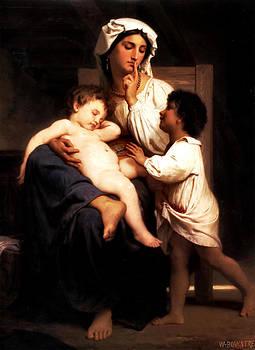 A Sleep At Last by William Adlophe Bouguereau
