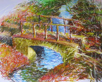 A Small Bridge  by Misha Lapitskiy