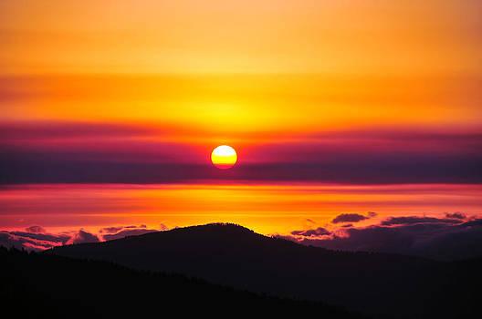 Matt Swinden - A Smoky Sunrise