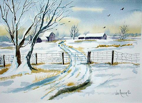 A Snowy Farm  by Joe Prater