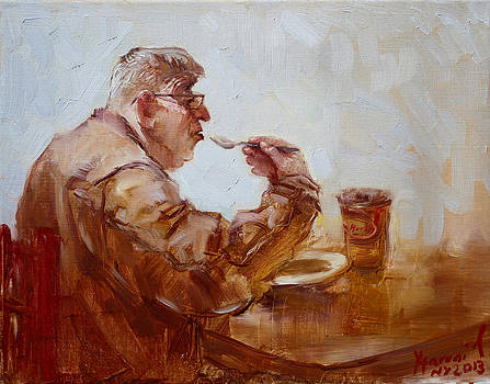 Ylli Haruni - A Soupe Break at Tim Hortons
