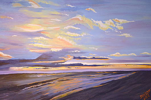 A South Facing Shore by Donna Blossom