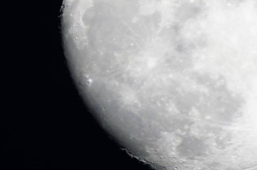 A Southern Super Moon Shot by Kim Pate