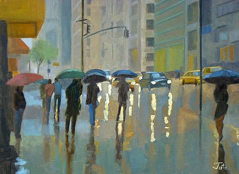 A spring rain by Tate Hamilton