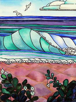 A Stained Glass Sea by Pamela Shearer