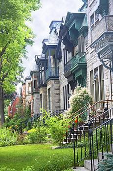 Veronica Vandenburg - A Street In Montreal