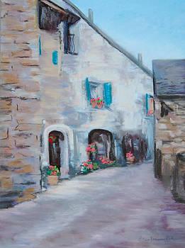A Street in Tuscany-12x9 by Eileen Serwer