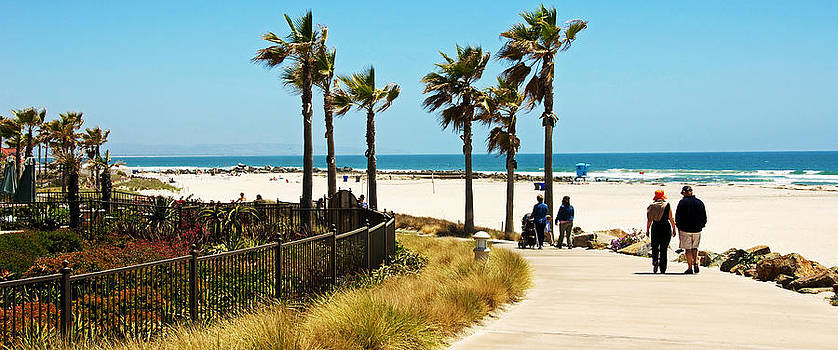 A Stroll on Coronado Island by Kimberly Long