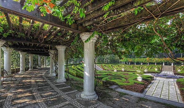 A Sunken Garden by Mario Legaspi