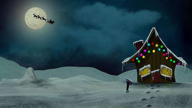 A Sunny Christmas by Joseph  Davis