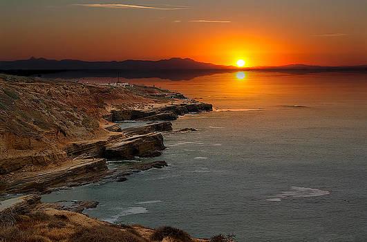 A Sunset by Lynn Geoffroy