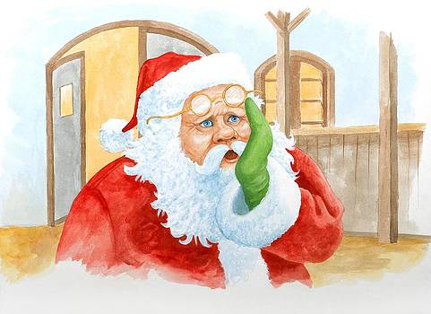 A Surprised Santa by Eight Little Pigs Publishing