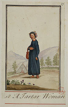 A Tartar Woman by British Library